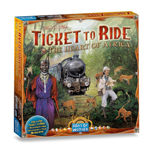 Days of Wonder Ticket to Ride Africa Uitbreidingsspel kopen