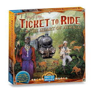 Ticket to Ride Africa Uitbreidingsspel