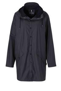 Rains 1202 Long Jacket regenjas, Donkerblauw