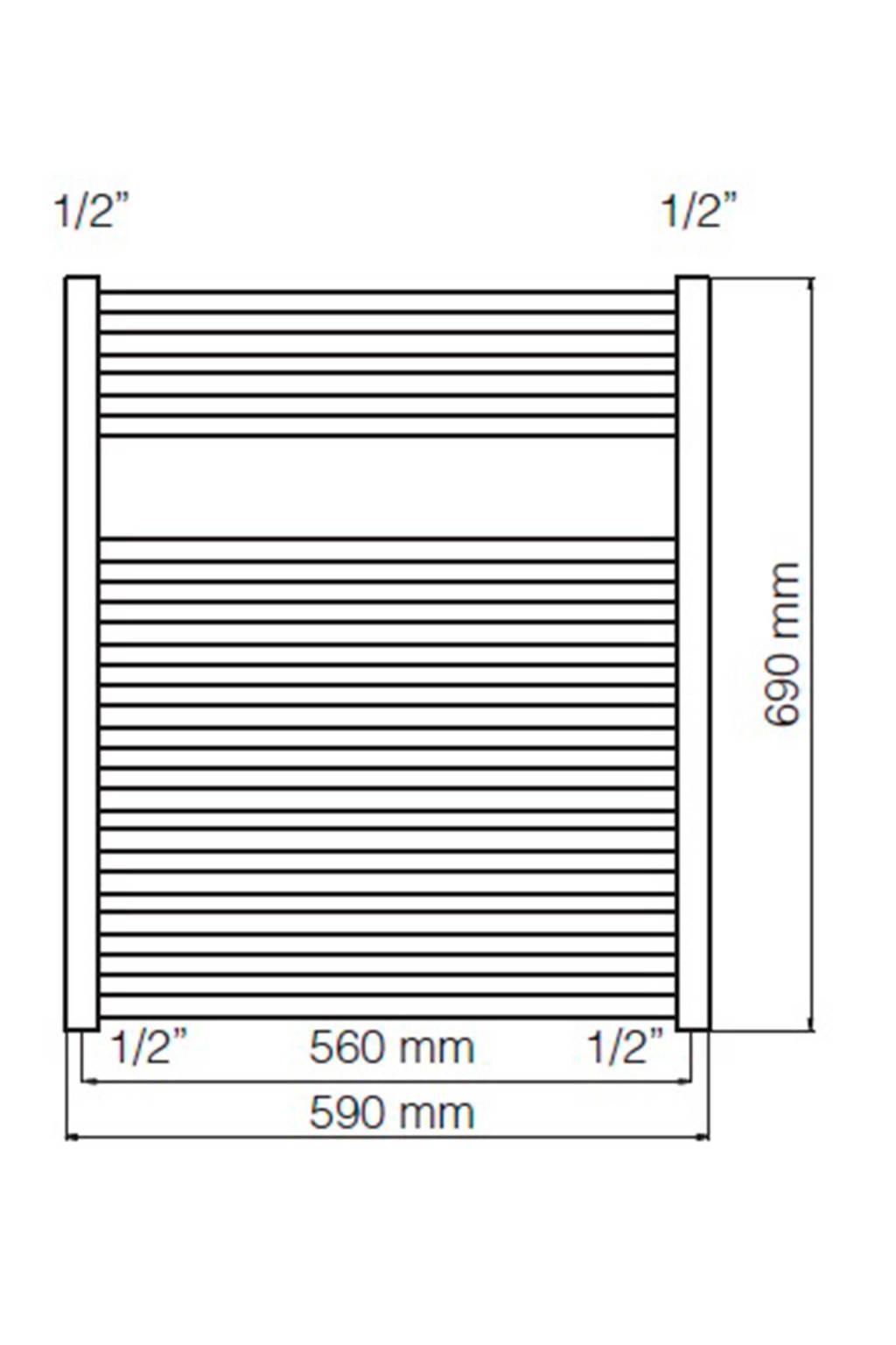 Haceka Sahara Designradiator.Haceka Sahara Designradiator 69x59cm Wehkamp