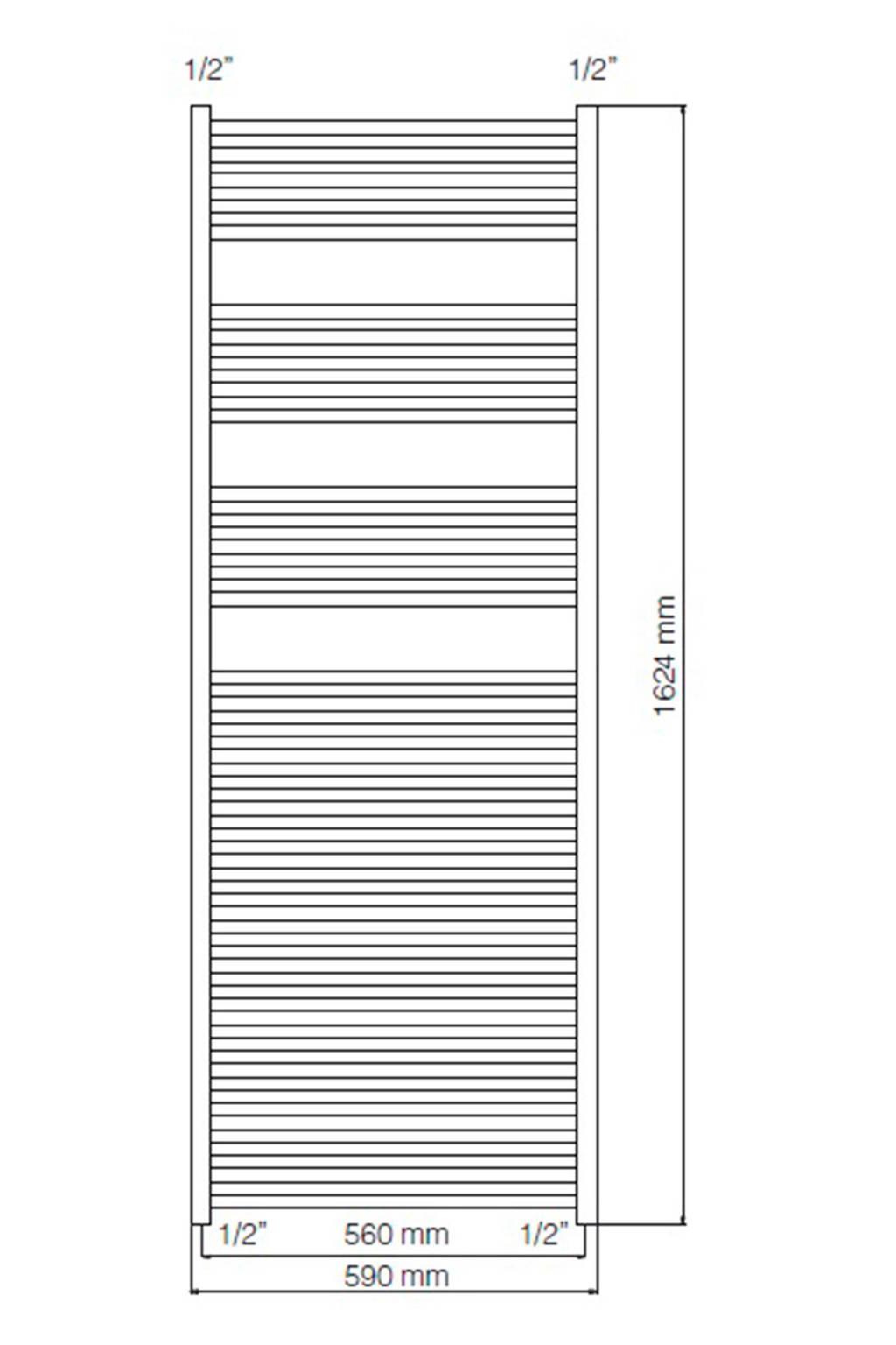 Haceka Sahara Designradiator.Haceka Sahara Designradiator 162x59cm Wehkamp