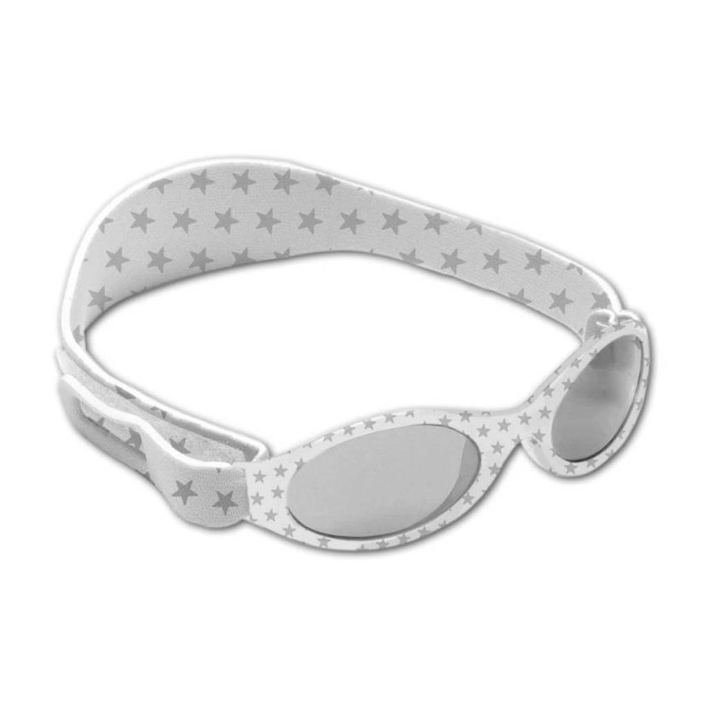 BabyBanz Dooky Star zonnebril zilver, Star zilver