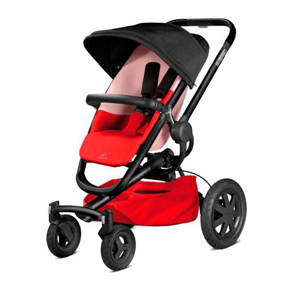 Quinny Buzz Xtra 4 wandelwagen reworked red, Reworked Red