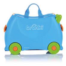 Ride-on kinder koffer Terrance blauw