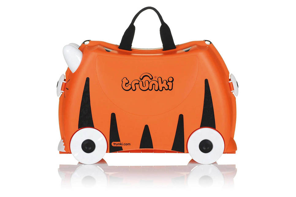 Trunki Ride-on kinder koffer Tijger Tipu oranje , Oranje