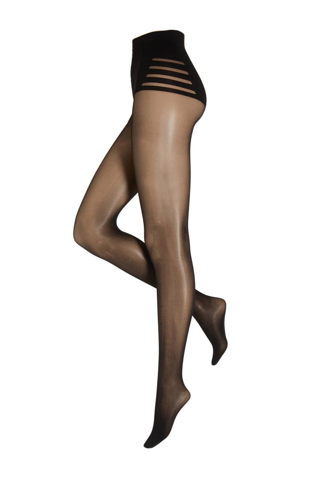 Maidenform corrigerende panty 40 denier, Zwart