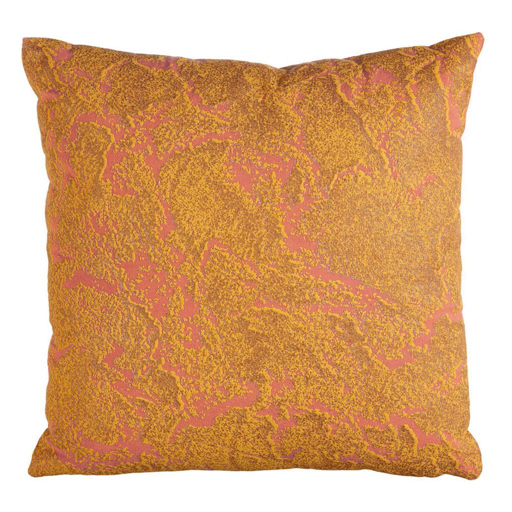 Oilily sierkussen Coral (40x40 cm), oranje/koraal