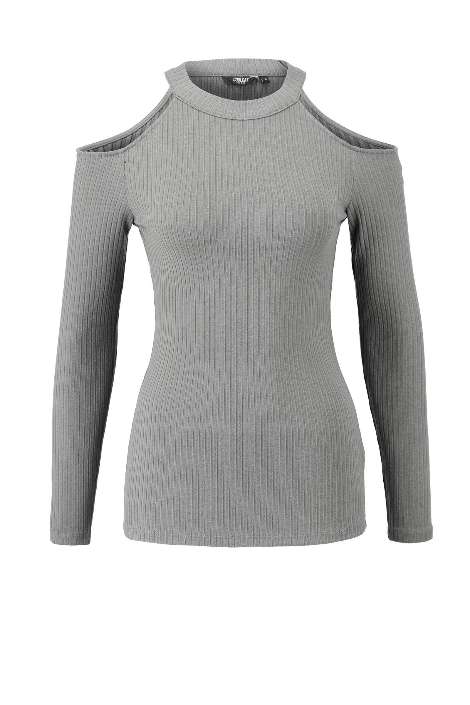 CoolCat open shoulder trui | wehkamp