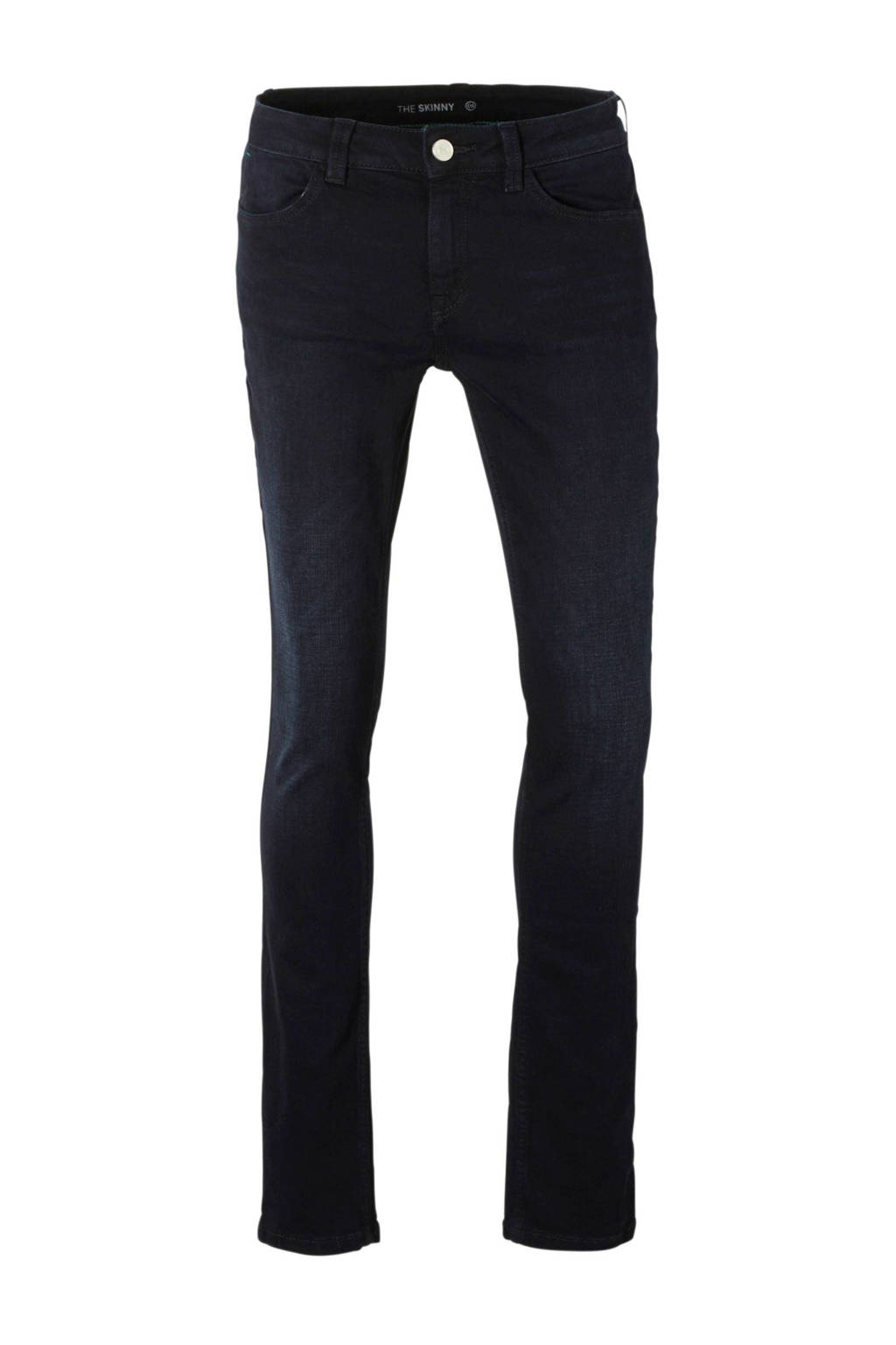 C&A The Denim skinny jeans, Donkerblauw