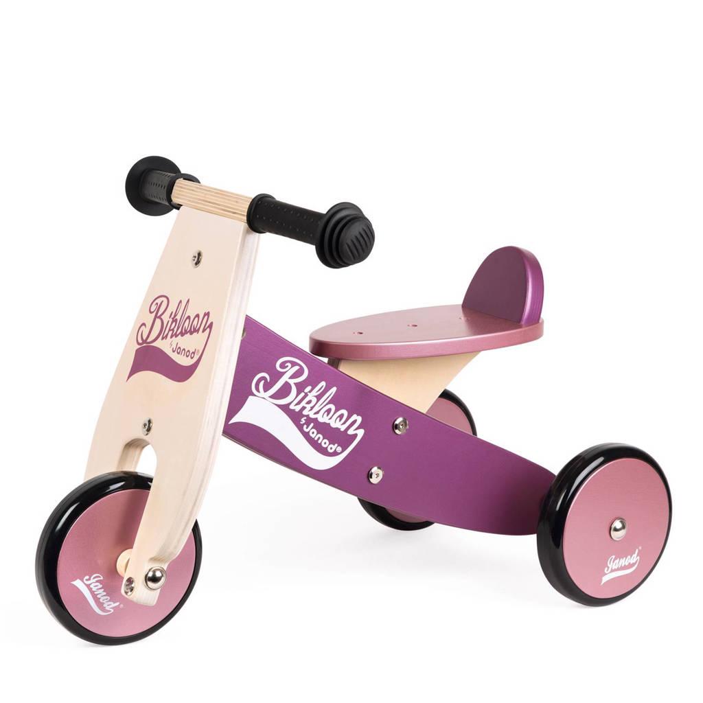Spiksplinternieuw Janod Bikloon houten loopfiets driewieler | wehkamp DR-88