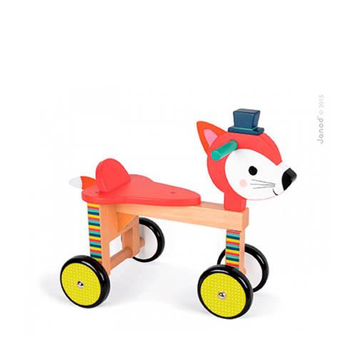 Janod Baby Forest houten loopfiets vos kopen