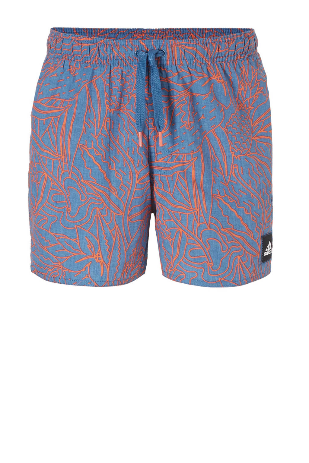 e78425c0da0f59 adidas performance zwemshort, Blauw/oranje