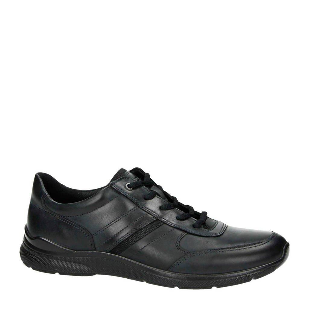 Ecco   leren sneakers, Zwart