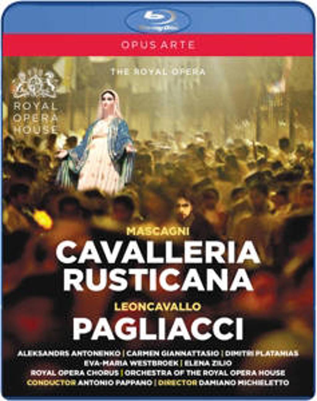 Royal Opera House & Antonio Pappano - Cavalleria Rusticana/Pagliacci (Blu-ray)