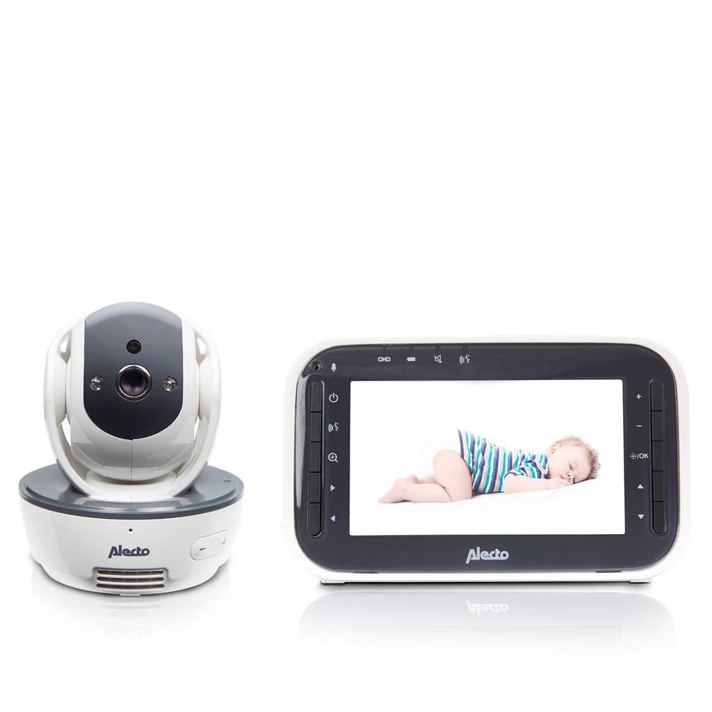 """Alecto DVM-200 babyfoon met camera en 4.3"""" kleurenscherm, Wit/antraciet"""