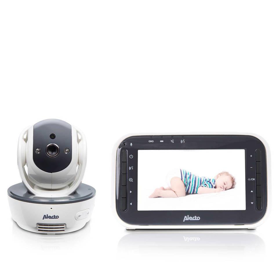 """Alecto DVM-200 babyfoon met camera en 4.3"""" kleurenscherm, Wit"""