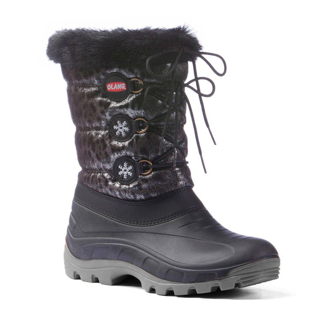 Olang Patty Lux snowboots, Antraciet