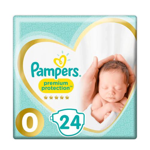 Pampers Premium Protection maat 0 (1,5-2,5 kg) 24 luiers kopen