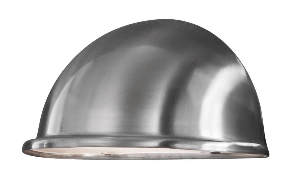 Konstsmide wandlamp Torino (S), RVS/zilver
