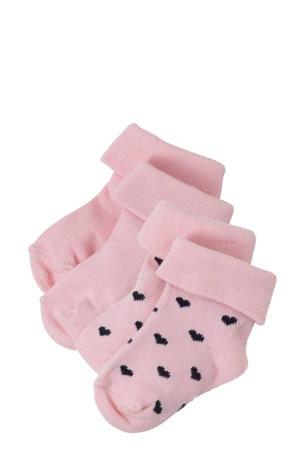 baby sokken  Naples -set van 2 roze
