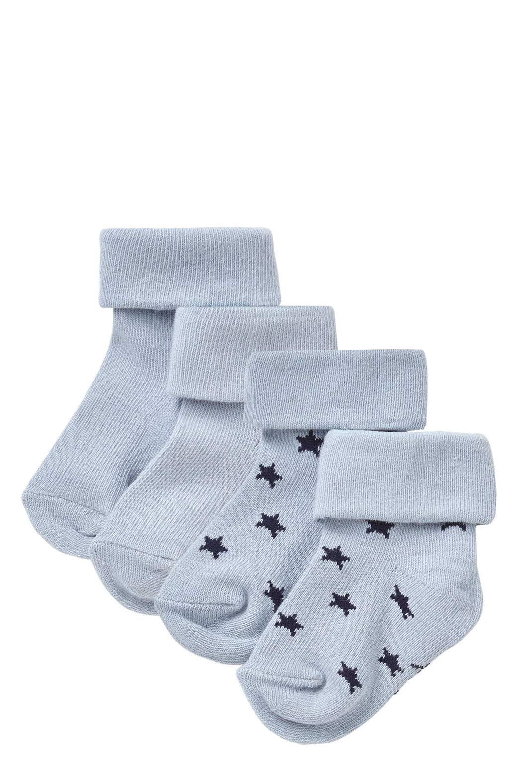 Noppies sokken (2 paar) lichtblauw, Lichtblauw