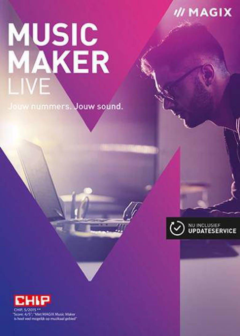 Magix music maker live (PC)