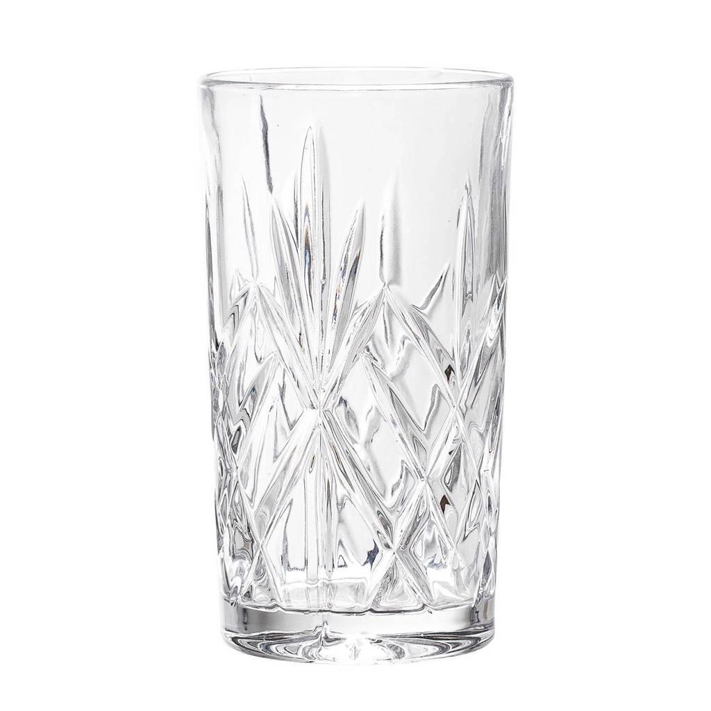 Bloomingville longdrinkglas (Ø7 cm), Transparant