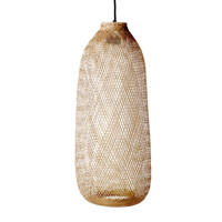 Bloomingville hanglamp (bamboe), Naturel bruin