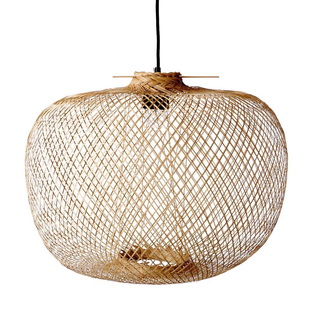 Bloomingville hanglamp (bamboe), 42x30 cm