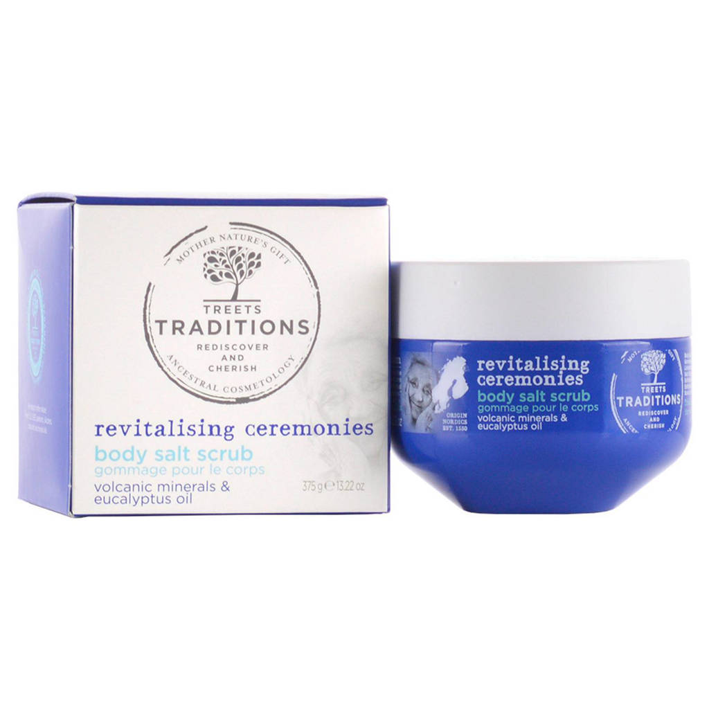 Treets Revitalising ceremonies Body Salt Scrub - 375 gram