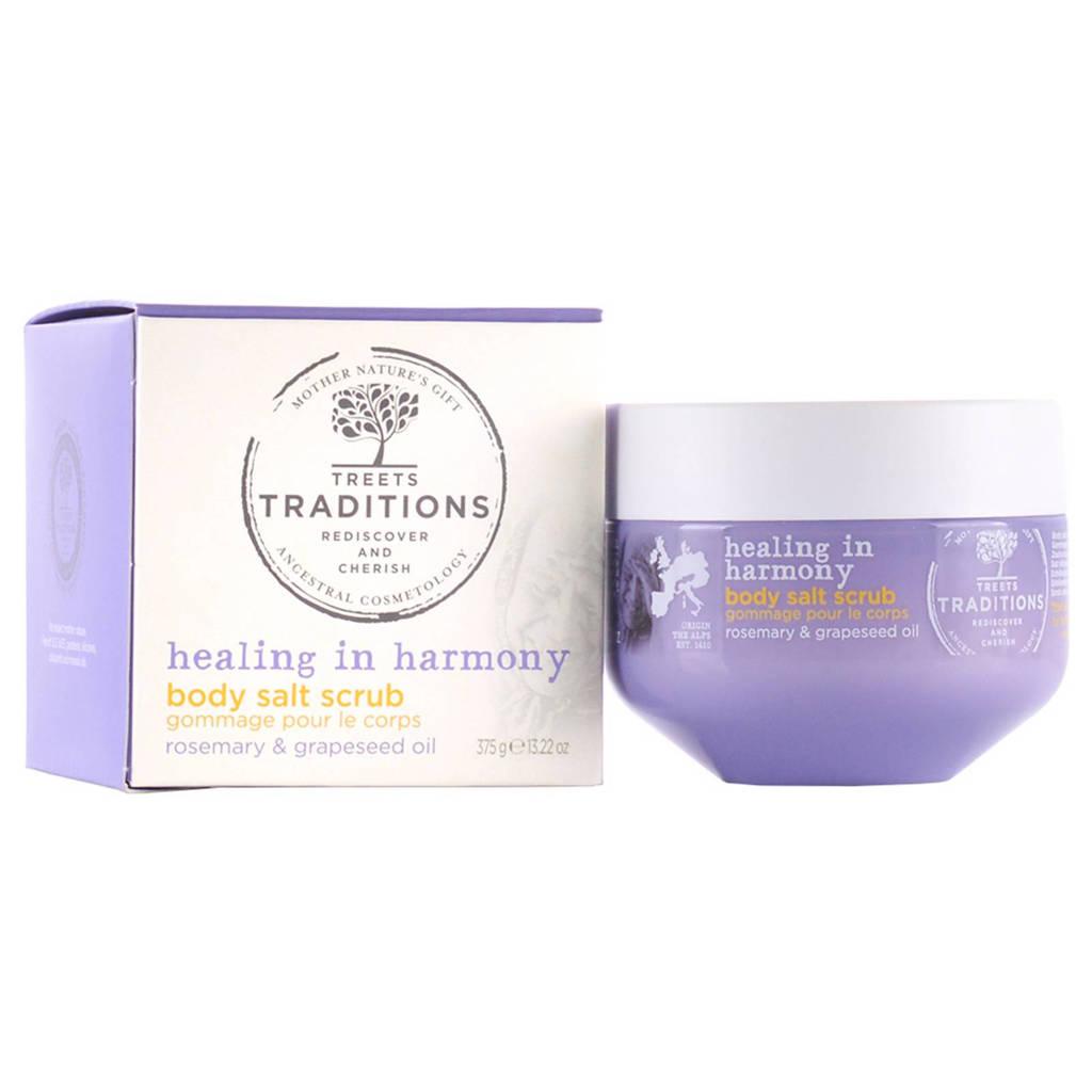 Treets Healing in Harmony Body Salt Scrub - 375 gram
