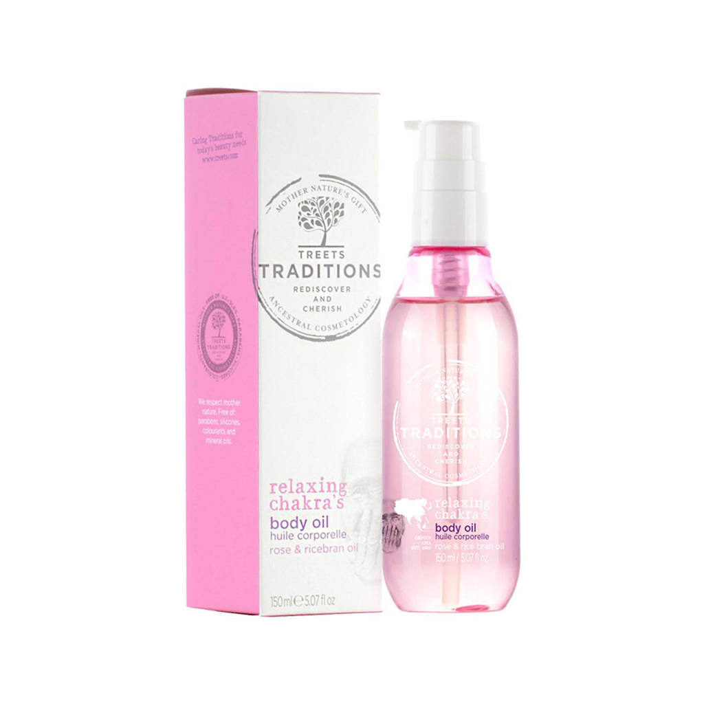 Treets Relaxing Chakra's Body Oil - 150 ml