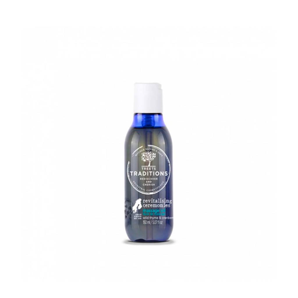Treets Revitalising ceremonies Massage oil - 150 ml