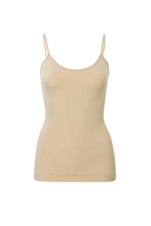 corrigerend hemd beige