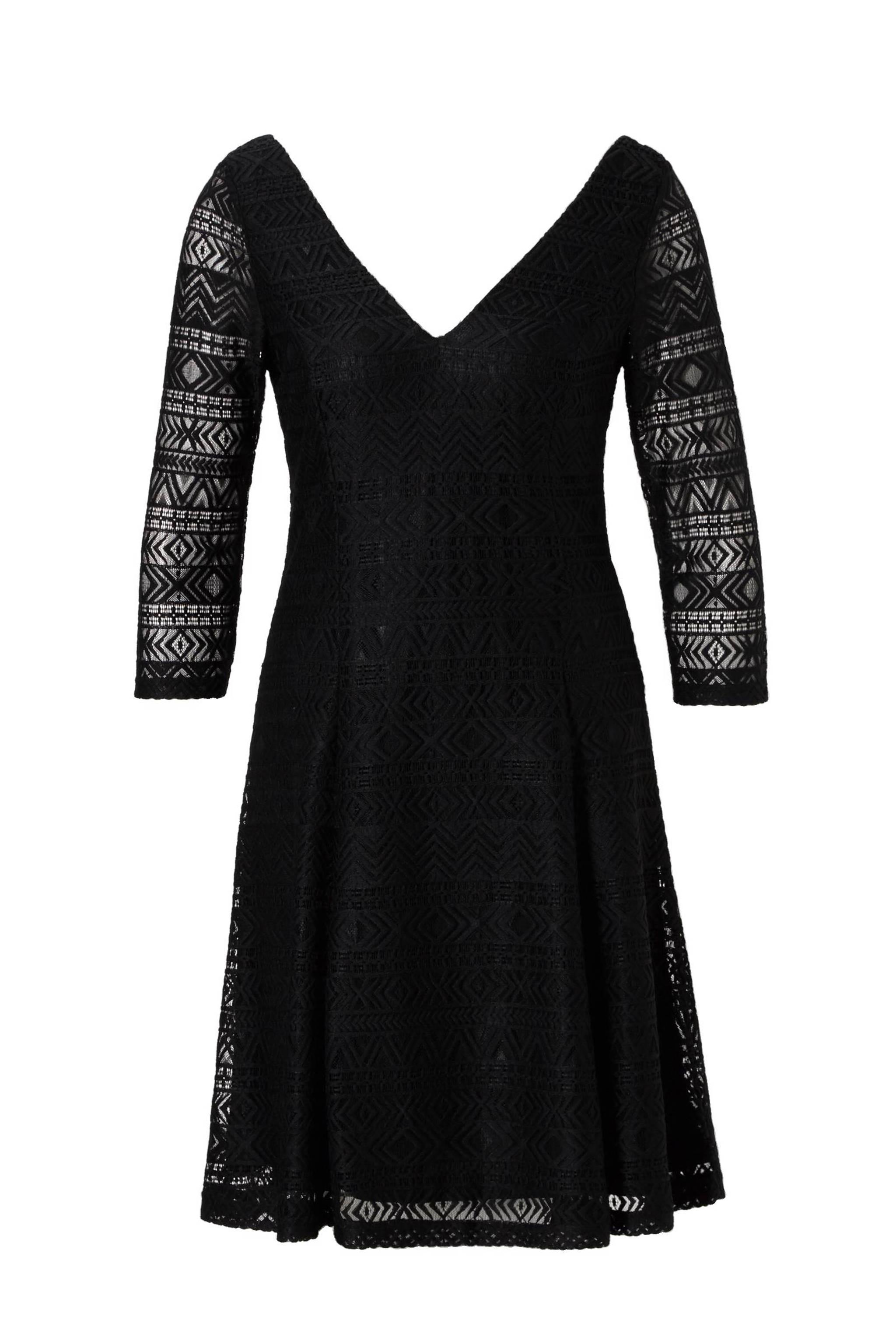 ad2f44ebe83da6 ESPRIT Women Casual kanten jurk