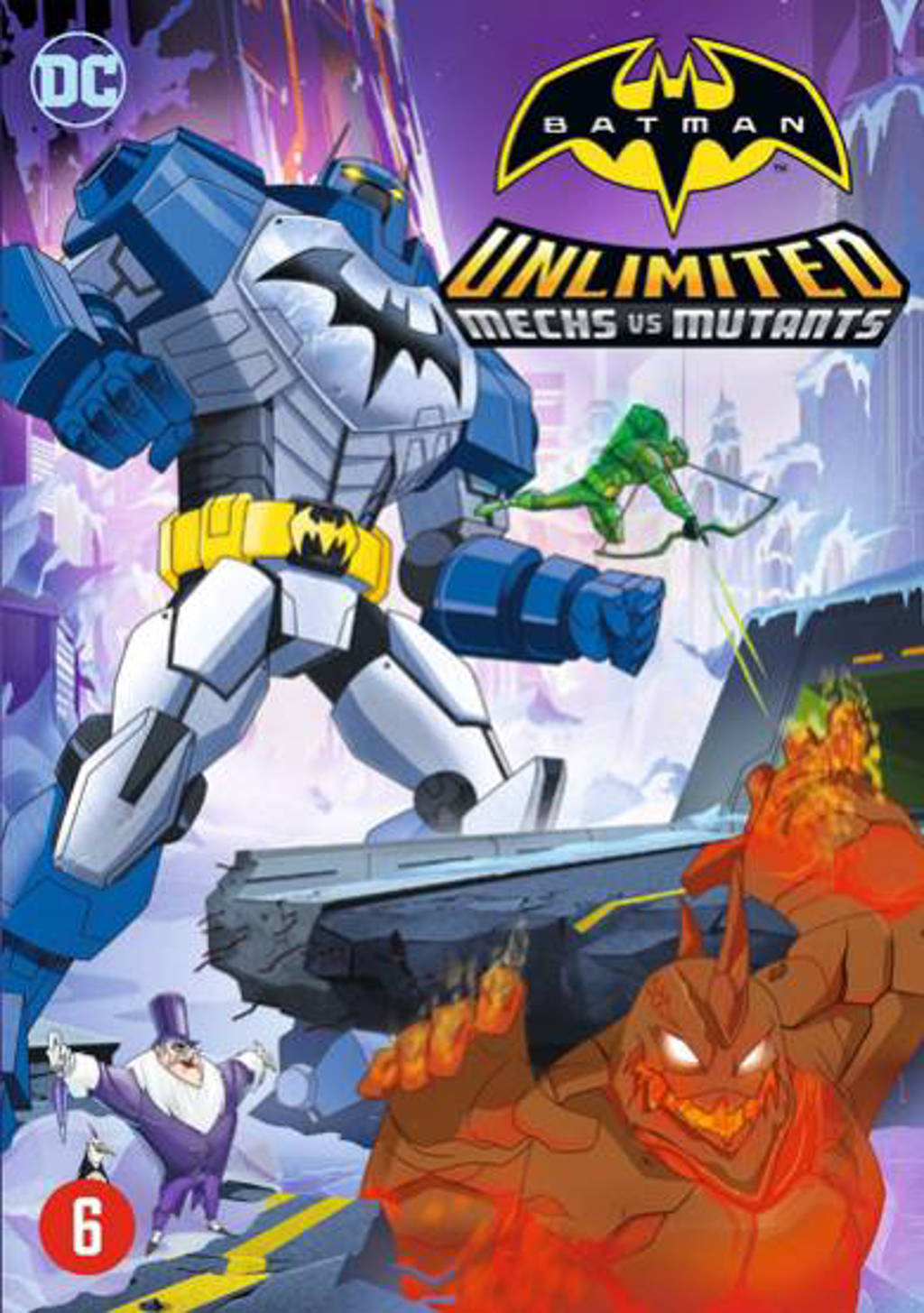 Batman - Mechs vs mutants (DVD)