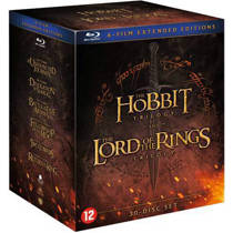 Hobbit & Lord of the rings trilogy (Blu-ray)