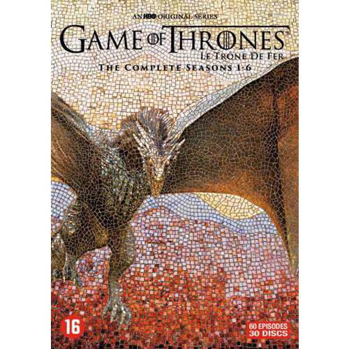 Game of thrones - Seizoen 1-6 (DVD) kopen