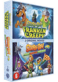 Scooby Doo - Frankencreepy + Moon monster madness  (DVD)