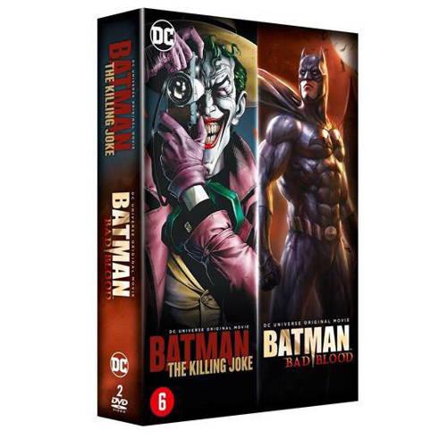 Batman - Bad blood + The killing joke (DVD) kopen