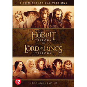 Hobbit& Lord of the rings trilogy (DVD)