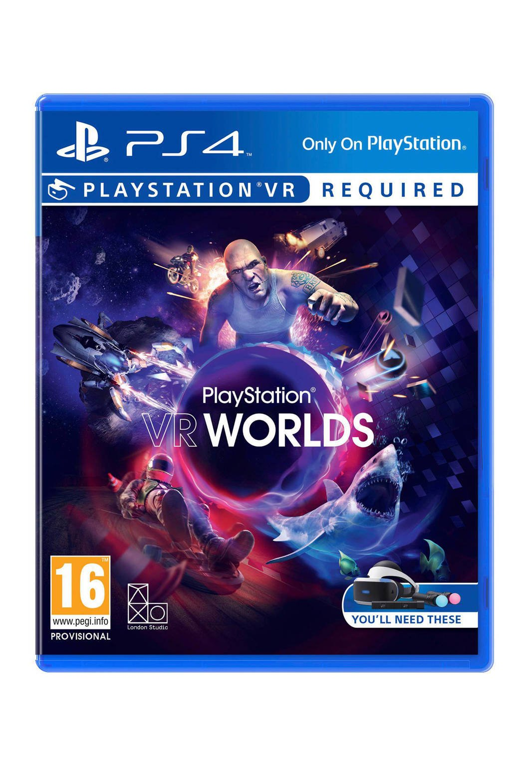 Sony PlayStation 4 VR Worlds (VR game)