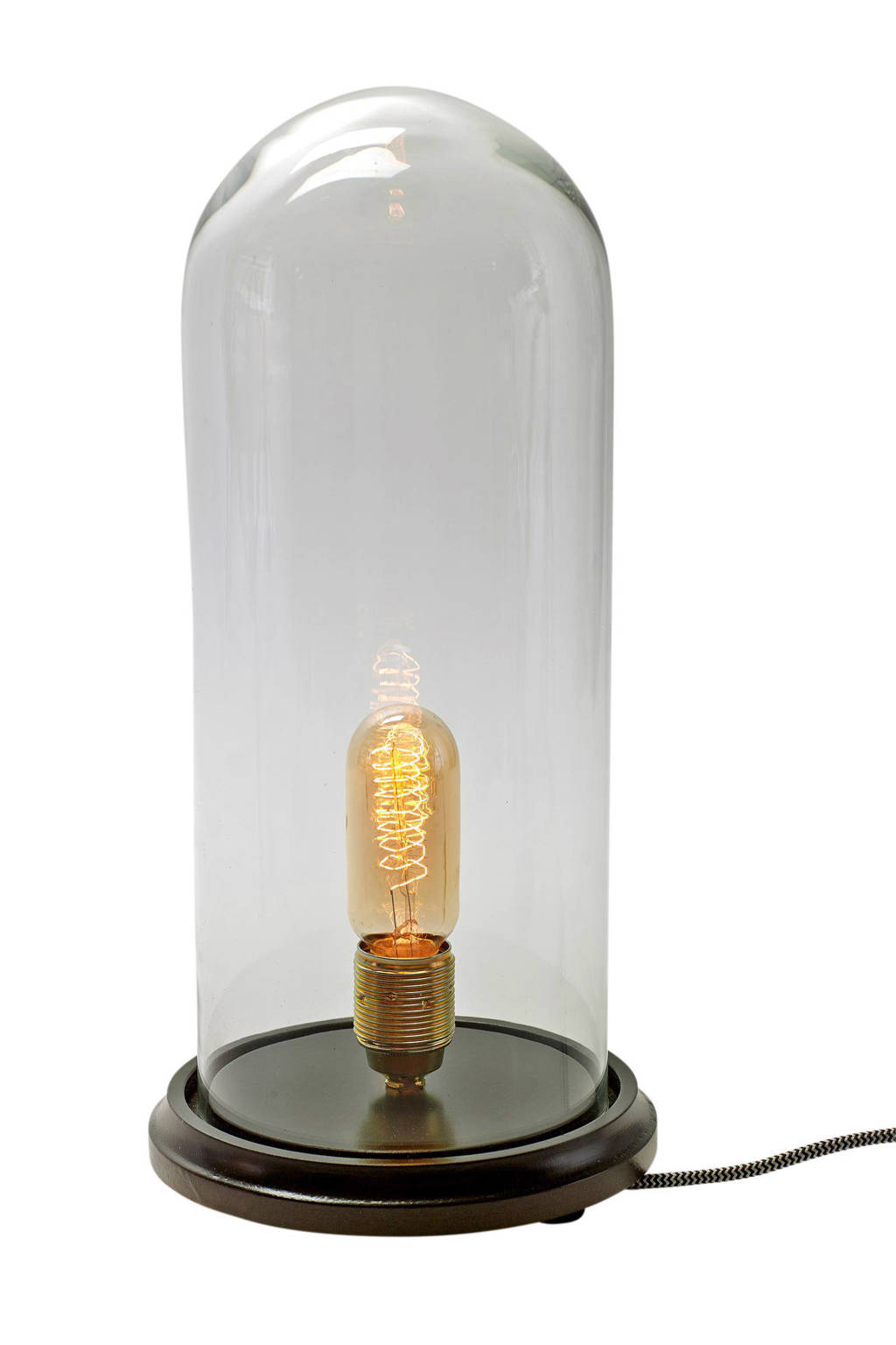 Serax by Jeroen Teeuwen tafellamp Globe L, Transparant, bruin
