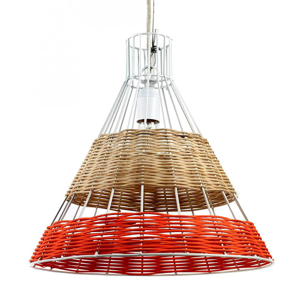 Serax by Colonel hanglamp, Rood, wit, beige
