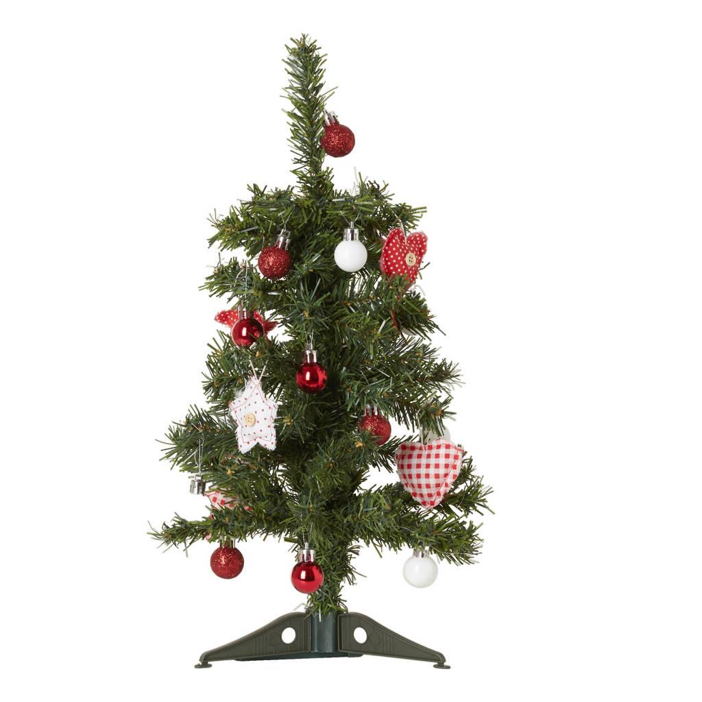 Lumineo Mini Kerstboom Met Decoratie 45 Cm Wehkamp