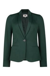 WE Fashion jersey blazer groen (dames)
