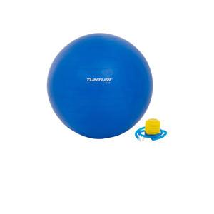 65 cm fitness bal 65 cm blauw