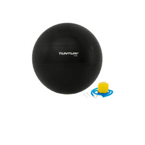65 cm fitness bal 65 cm zwart