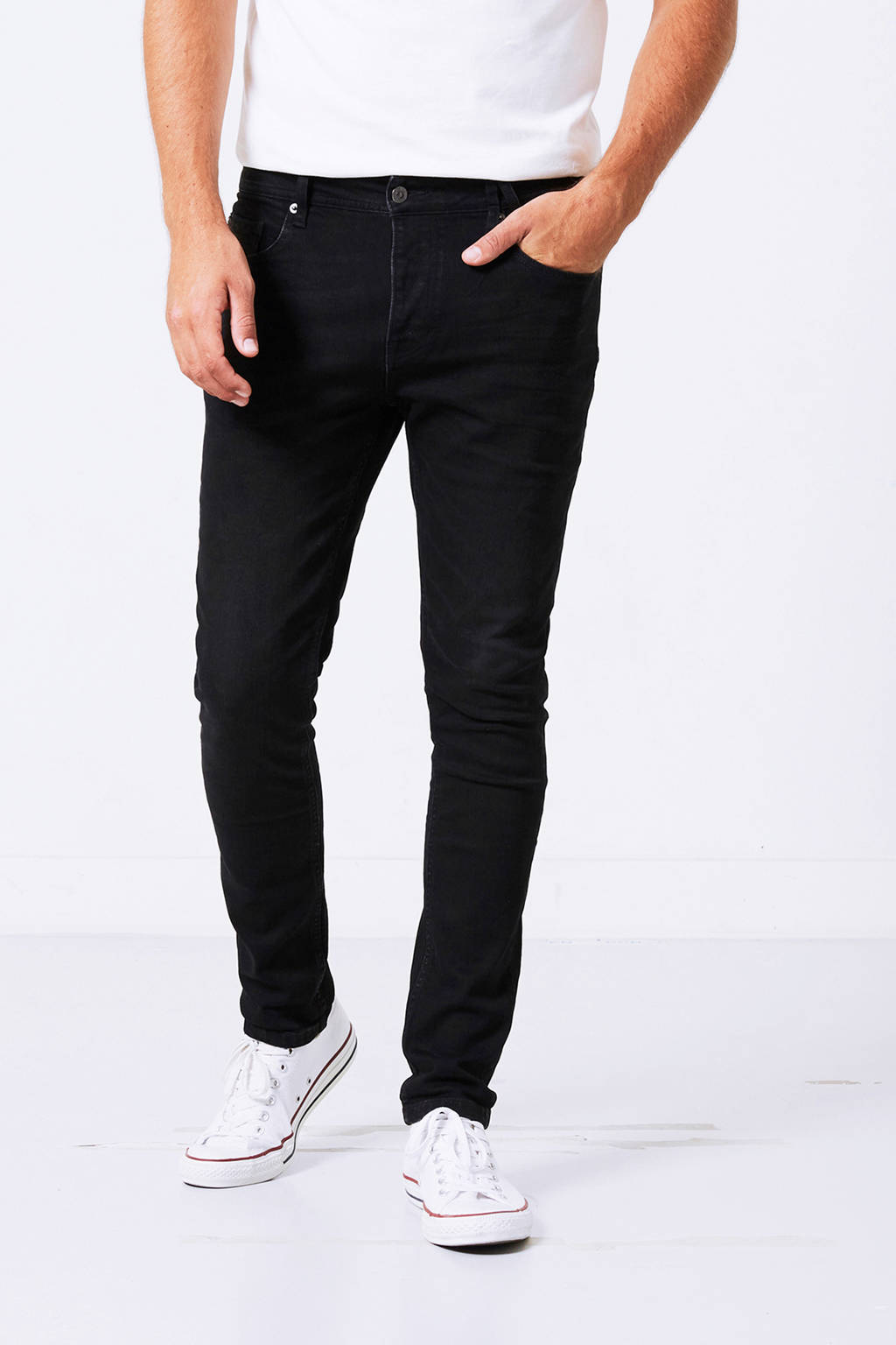 America Today slim fit jeans Ryan, Zwart