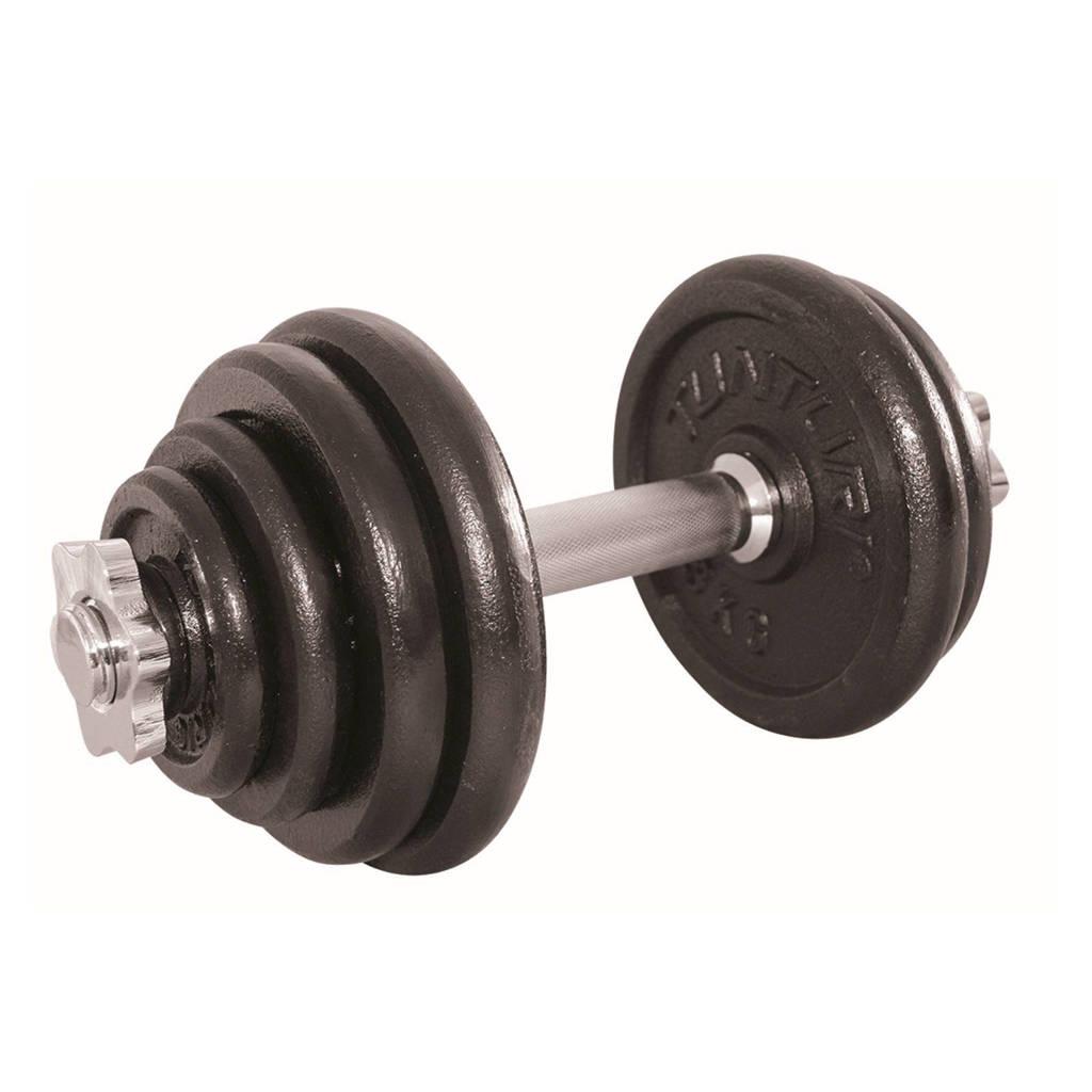 Tunturi verstelbaar, 15 kg dumbbell set 15 kg